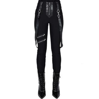 Pantaloni da donna KILLSTAR - Shadow Stripe - Nero, KILLSTAR