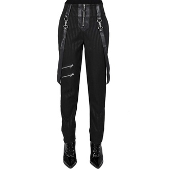 Pantaloni da donna KILLSTAR - Shadow Stripe - Gessato, KILLSTAR