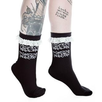 calzini KILLSTAR - MARILYN MANSON - Snake Eyes - Nero, KILLSTAR, Marilyn Manson