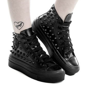 scarpe con cuneo unisex - SOULED OUT HIGH TOPS - KILLSTAR, KILLSTAR