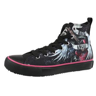 scarpe da ginnastica alte donna - ROCK ANGEL - SPIRAL, SPIRAL