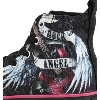 scarpe da ginnastica alte donna - ROCK ANGEL - SPIRAL
