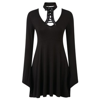Vestito donne KILLSTAR - Spyda Lace-Me-Up - Nero - K-DRS-F-2618