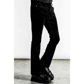 Pantaloni unisex KILLSTAR - Strike A Cord - Velluto nero a coste, KILLSTAR