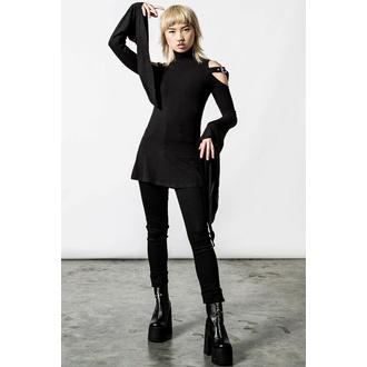 Maglietta da donna a maniche lunghe (tunica) KILLSTAR - Style - Nero, KILLSTAR