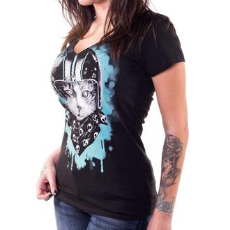 t-shirt hardcore donna - ANGEL BIKER CAT - LETHAL THREAT, LETHAL THREAT