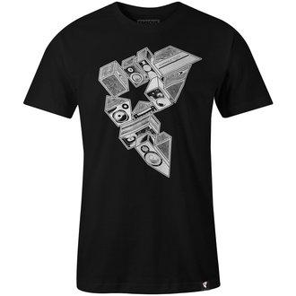 t-shirt street uomo - STEREO STACKS - FAMOUS STARS & STRAPS, FAMOUS STARS & STRAPS