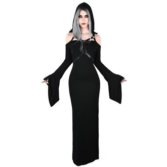 vestito KILLSTAR - TABITHA TOMB - NERO, KILLSTAR