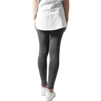 Leggins da donna URBAN CLASSICS - Cutted Knee Leggings - nero, URBAN CLASSICS