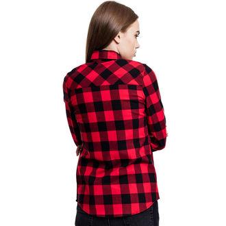 camicia URBAN CLASSICS - Turnup Checked Flannel, URBAN CLASSICS