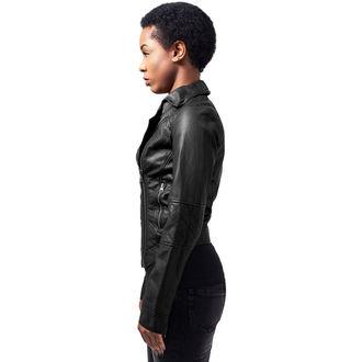 giacca primaverile / autunnale donna - Leather Imitation Biker - URBAN CLASSICS, URBAN CLASSICS