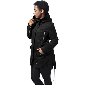 giacca invernale donna - Sherpa Lined Cotton Parka - URBAN CLASSICS, URBAN CLASSICS