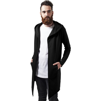 felpa con capuccio uomo - Open Edge Cardigan - URBAN CLASSICS, URBAN CLASSICS