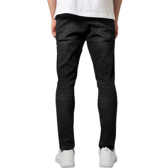 pantaloni URBAN CLASSICS - Skinny Ripped Stretch Denim, URBAN CLASSICS