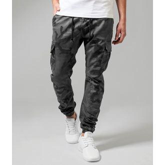 pantaloni URBAN CLASSICS - Camo Cargo Jogging - TB1611-grey camo