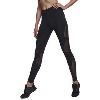 pantaloni (ghette) URBAN CLASSICS - Triangle Tech Mesh - blk / blk, URBAN CLASSICS
