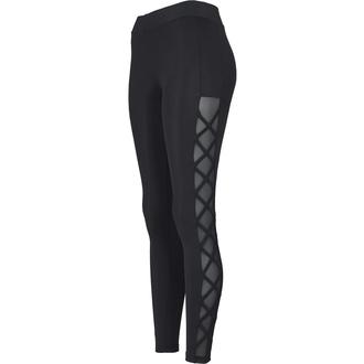 pantaloni (ghette) URBAN CLASSICS - Ribbon Mesh - nero, URBAN CLASSICS
