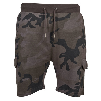 pantaloncini URBAN CLASSICS - Camo Cargo Terry, URBAN CLASSICS