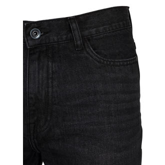 jeans URBAN CLASSICS - Denim Baggy - TB2204_black lavaggio