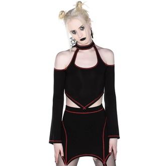 Maglietta da donna a maniche lunghe (crop top) KILLSTAR - Techno Witch, KILLSTAR