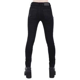 pantaloni KILLSTAR - Trash Talk Jeans - NERO, KILLSTAR