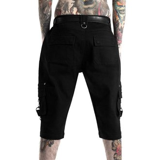 Pantaloncini KILLSTAR - TWISTED CARGO - NERO, KILLSTAR