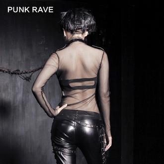 T-shirt gotica e punk donna - MeshMerizer - PUNK RAVE, PUNK RAVE