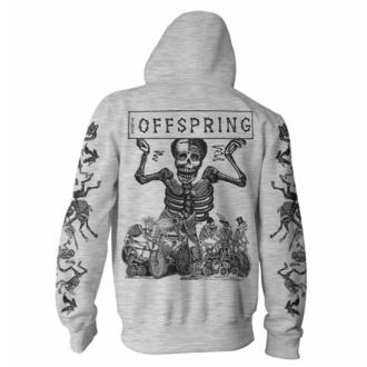 Felpa da uomo Offspring - Skeletons - Grigio, NNM, Offspring