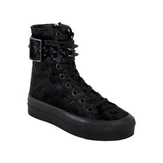 scarpe con cuneo donna - UNHOLY HIGH TOPS - KILLSTAR