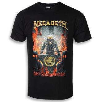 t-shirt metal uomo Megadeth - NEW WORLD ORDER - PLASTIC HEAD, PLASTIC HEAD, Megadeth