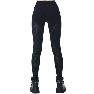 Pantaloni da donna leggins KILLSTAR - Untamed - Nero, KILLSTAR
