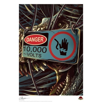 Stampato Jurassic Park - Danger, NNM, Jurassic Park