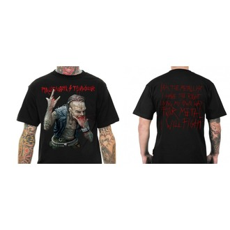 t-shirt metal uomo Malignant Tumour - THE METALLIST - NNM - MT009