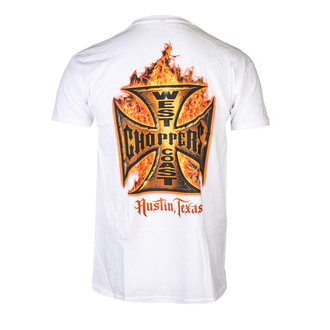 t-shirt uomo - IN FLAMES - West Coast Choppers, West Coast Choppers