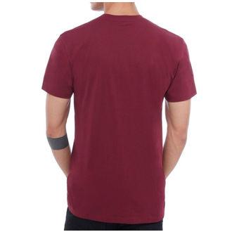 maglietta uomo VANS - MN VANS CLASSIC - Borgogna / bianca, VANS