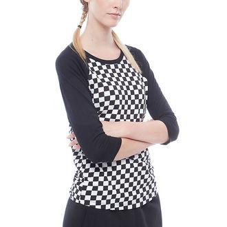 t-shirt street donna - WM CHECKS RAGLAN - VANS, VANS