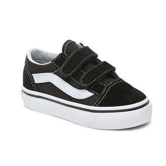 scarpe da ginnastica basse bambino - UY OLD SKOOL V Black/True White - VANS, VANS