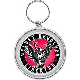 portachiavi - ciondolo Velvet Rivoltella (Circle Logo) - ROCK OFF, ROCK OFF, Velvet Revolver