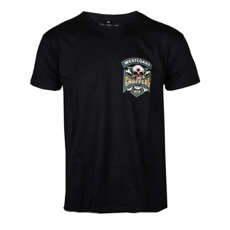 t-shirt uomo - HIPSTER HUNTERS - West Coast Choppers, West Coast Choppers