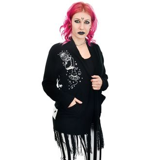 Maglione Da donna (cardigan) TOO FAST - WITCH BITCH - CRISTALLO PALLA & MOONS, TOO FAST