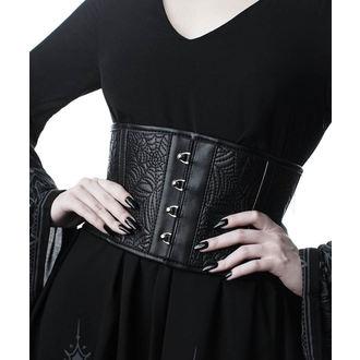 Cintura (corsetto) KILLSTAR - Webutant Waist Cincher - NERO, KILLSTAR