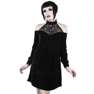 Vestito Da donna KILLSTAR - WICKED WEBUTANT SKATER - NERO, KILLSTAR