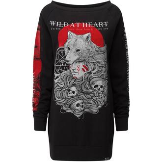Vestito da donna KILLSTAR - Wild At Heart - NERO - KSRA001865