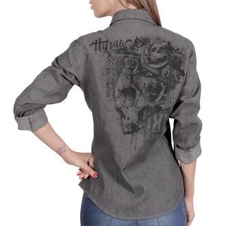 camicia da donna HYRAW - CHEMISE SKULLZ, HYRAW