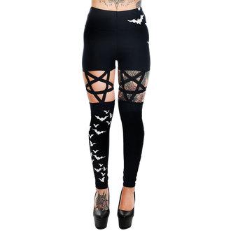 Pantaloni Da donna (ghette) TOO FAST - PENTAGRAM - VOLO BATS, TOO FAST