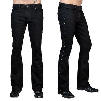 pantaloni (jeans) WORNSTAR - Gauntlet Skull - Nero, WORNSTAR