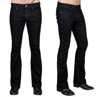 pantaloni (jeans) WORNSTAR - Gauntlet - Nero, WORNSTAR