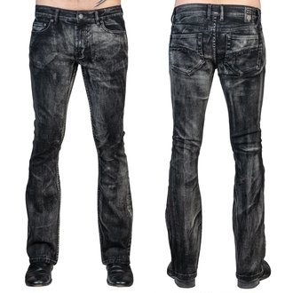 Uomo i pantaloni (jeans) WORNSTAR - Hellraiser Smoke - Nero, WORNSTAR