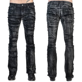 Uomo i pantaloni (jeans) WORNSTAR - Remnant - Nero, WORNSTAR