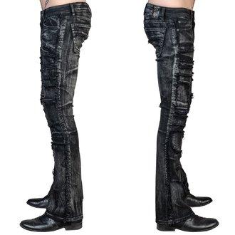 pantaloni (jeans) WORNSTAR - Remnant - Nero, WORNSTAR